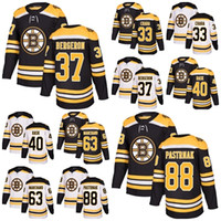 Ice Hockey Unisex Full 2018 New Brand Men Boston Bruins 37 Patrice Bergeron  88 David Pastrnak e1ed277da