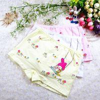 Wholesale Drop Shipping Girl Underwear Baby Underwear Flat Pants cotton