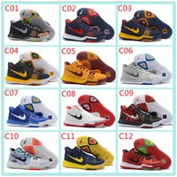 Wholesale 64 colors Hot Sale Kyrie Irving Shoes High Quality Kyrie Irving Mens Basketball Shoes Sports Training Sneakers kids