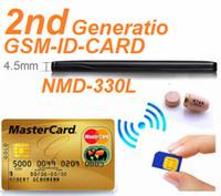 Wholesale New W GSM ID BOX with Hidden In Ear wireless earpiece spy Kit GSM Neckloop