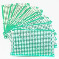 Wholesale Prototype PCB PCB Print Circuit Board Protoboard Tinned Universal Breadboard Prototyping Solderless FR4 Double Sided for DIY X cm