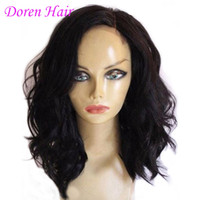 Wholesale Peruvian Body Wave Virgin Human Hair U Part Wigs With Natural Hairline Full Lace Wigs For Black Women