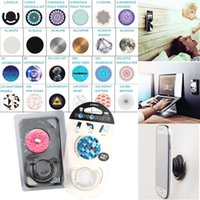 Wholesale 153 Designs Universal PopSockets and Popclip Combo Expanding Stand Grip for Smartphones Tablets Flexible Bracket Phone Holder Fast Shipping