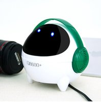 audio palyer - China Stylish beautiful wired astronaut Speaker support mm audio input MP3 Music palyer USB with LED lights for computer