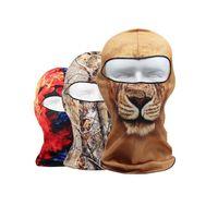 Masks Unisex  Magic Printing Ski Winter Hood Windproof Balaclava Caps Motorcycle Cycling Face Mask Sport Dust Protecting Scarves ZA2685