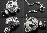 Bijoux de panda Prix-Jolie émail en strass Panda Pendentif Collier Femmes Cristal Accessoires Collier Pull Colliers Bijoux