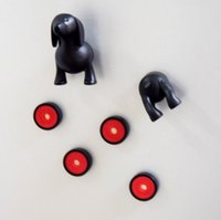 best fridges - 2016 Dog Cartoon Figurines Refrigerator Fridge Freezer Magnets DIY Home Decoration Best Toy Gift