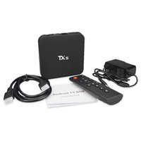 Wholesale Canada Stock TX5 Android Marshmallow TV BOX Amlogic S905X K KODI G G b g n LAN Media Player
