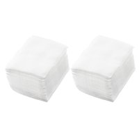 Wholesale Lady Nail Polish Remover Rectangular Face Cleaning Cotton Pads