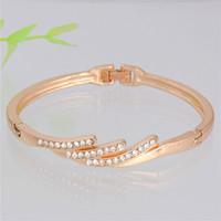 best romantic dates - Best Fashion Bracelet For Girl Romantic Design Gold Plated Cuff Bracelet Perfect Bracelet For Girl s Dating