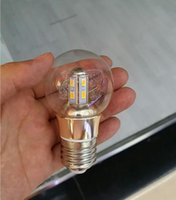 Wholesale Led Bulbs w Warm White Glasses Cover