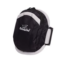 Sports Armband double poches Multifonctionnel extérieur bras sacs bande réglable imperméable téléphone portable poignet sacs multi couleurs choix