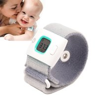 Wholesale Baby Health Care Children iFever Intelligent Wearable Electronic Thermometer Bluetooth Smart Baby Monitor Household Thermometer