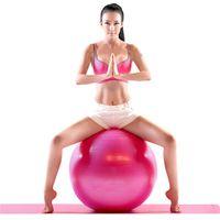 Wholesale Eco Friendly Yoga Exercise Fitness Balls cm Utility Yoga Balls Gym Fitness Balls Anti slip for Fitness Body Massager ball