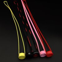 Wholesale High quality Silicone Lanyard fit mm mm Electronic Cigarette Mods Atomizers Silicone Material Lanyard Colorful DHL Free