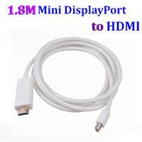HDMI Cable apple mini computer - 2017 NEW M FT Mini DP to HDMI Cable Thunderbolt Mini Display port to HDMI Adapter Cable Male to Male For Apple Mac Macbook Pro Air White