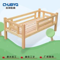 Wholesale Custom engineered wood children bed with guardrail small bed children s best love and baby feels safety and peaceful