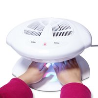 Wholesale MAKARTT Nail Fan Dryer Professional Infrared Machine Hands Automatic Double Sensor Warm Cool Breeze Air Electric Fan Nail Polish Dryer