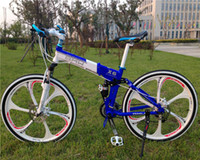 Wholesale 26 inch speed double disc brake luxury bicicleta mountain bike folding bike X6 BMX bicycle