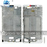 Wholesale 1PCS Original For Huawei Ascend Mate Front Screen Bezel Housing Frame Replacement Parts White Black Gold