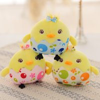 Wholesale 2017 new hot kelanwei Chicken egg doll Pink yellow blue Chicken in the mascot Chicken doll Company annual gift