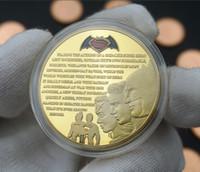 batman umbrella - Marvel Hero Movie Theme Batman vs Superman Gold Plated Challenge Coin