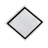 antique tile flooring - BLH x110MM Tile Insert Square Floor Waste Grates Bathroom Shower Drain Floor Drain Antique Fltro Ducha Drain Hair Invisible