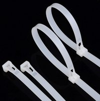 Wholesale 300Pcs pack size mm mm High QualitySelf locking Plastic Nylon Cable Ties Wire Zip Tie