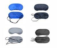 Wholesale DHL Shipping Sleep Masks Eye Mask Shade Nap Cover Blindfold Travel Rest Professional Skin Health Care Treatment Sleep Variety Color Options