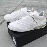 2017 zapatos ocasionales de los nuevos de la llegada hombres de los PP calza la caja de zapatos y el dustbag de la bajo-tapa de la alta calidad de Philip de las zapatillas de deporte del cuero genuino del blanco Envío libre