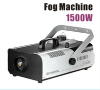 Wholesale Remote or wire control W smoke machine stage fog machine smoke generator for Oil liquid spraying