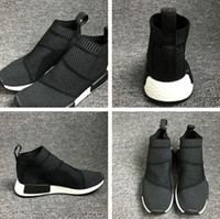 Wholesale 2016 NMD CS1 PK WINTER WOOL man and woman top quality running shoes size eur