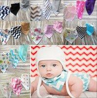 Wholesale baby bibs Layer Feeding Bibs Baby Bibs Triangular scarf Saliva Towel Bandana Bib Baby Bandana Head Scarf design KKA1107