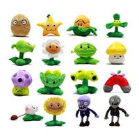 Wholesale styles cute Plants vs Zombies Plush Soft Stuffed doll toys for kids birthday gifts