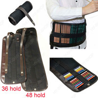 Pencil Bag art holdings - Pc For Holds Pencil Case Bag Canvas Pencil Roll Up Storage Holds Art Supply