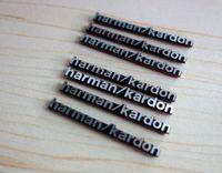 Personalized Sticker audio stickers - 200pcs Car speaker sticker Harman kardon Hi Fi Speaker For BMW E46 E52 E53 M3 M5 M6 X1 X3 X5 X6 Mercedes Audio sticker x5mm