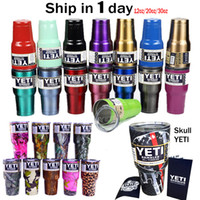 coffee filter - 30oz oz Stainless Steel YETI Cups Tumbler Rambler Coolers Travel Coffee Beer Double Mugs Free ePacket