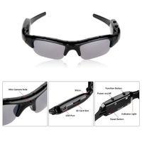 Wholesale GB x720P HD Wearable Camera Camouflage Hunting Glasses Video Recorder Mini DV Audio Recording