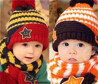 Wholesale Winter Warm Fur Unisex Knitted Pom Bobble Beanie Hat Crocket Ski cap Kids Boys Girls Winter Emoji Beanie Fur Pom Crochet Bobble