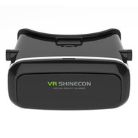 Wholesale Shinecon VR Pro Version Virtual Reality D Glasses Headset Head Mount Google Cardboard Movie Game For inch Phone Remote