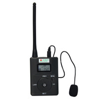 Wholesale Portable Radio FM Transmitter W for FM Stereo Radio Broadcast Adjustable Frequency MHz Y4189H