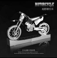 Wholesale motor cycle F1 Formula halo Warthog car puzzle toys mini metal Model Building Kits puzzle D Scale Models DIY Metallic