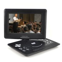 Wholesale 3D TFT LCD Screen Digital Multimedia Portable DVD with Card Reader USB Port Support TV Game