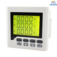 Wholesale ME UIF6Y frame size mm phase ac volt and current lcd digital combined meter of high quality