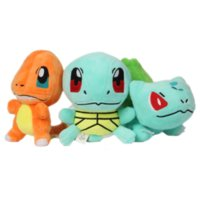 Wholesale Poke plush Pikachu Squirtle Charmander Bulbasaur Plush dolls poke Stuffed animals toys poket Action Toy cm