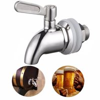 beer wine fridge - New Stainless Steel Beer Faucet Tap Home Brew Fermenter Wine Draft Beer Fridge Kegs Faucets For Bar Accessories