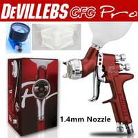 Wholesale and retail Devilbiss GFG professional spray gun HVLP car paint gun mm painted high efficiency good atomization