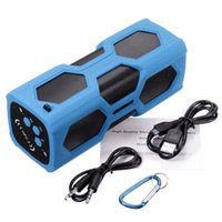 Wholesale The new outdoor three sports Bluetooth speaker NFC wireless Bluetooth speaker charging treasure waterproof Bluetooth stereo
