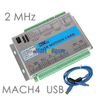Wholesale USB MHz Mach4 CNC Axis Motion Control Card Breakout Board MK3 M4 for Machine Centre CNC Engraving Machine SM780 SD