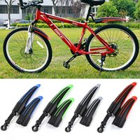 Wholesale 4 Colors Bicycle Mudguard Mountain Bike Fenders Set Mud Guards Bicycle Mudguard Wings For Bicycle Front Rear Fenders